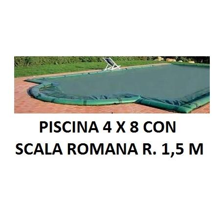 Copertura invernale per piscina - Salsicciotti per piscina ...