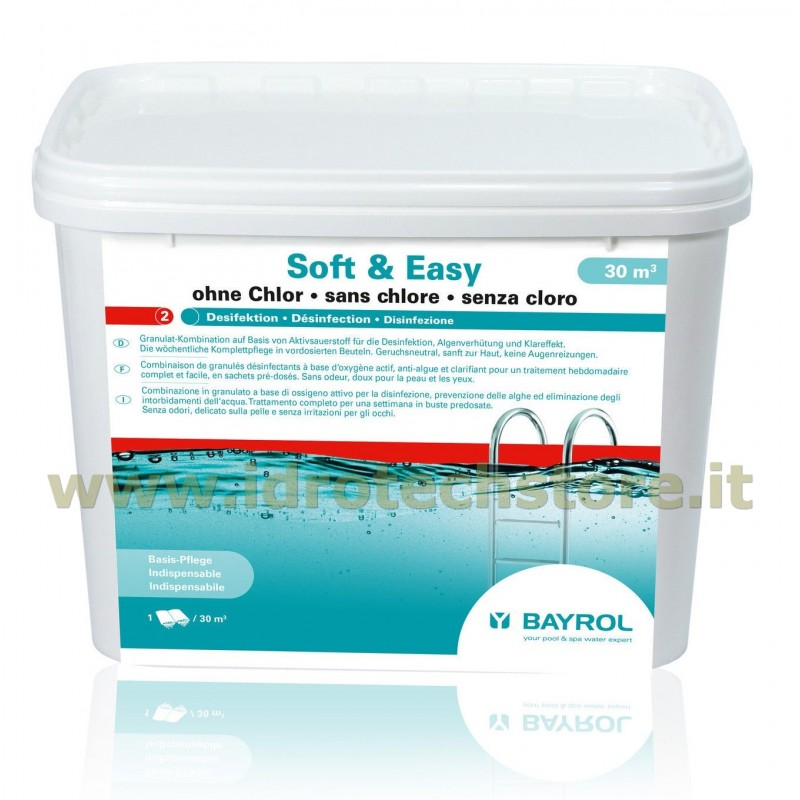 Soft easy 30 mc bayrol ossigeno attivo - Ossigeno attivo per piscine ...